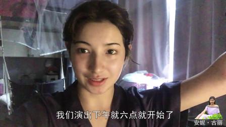 维吾尔古丽逐步适应南方生活,认真上学刻苦训练,和同学打成一片