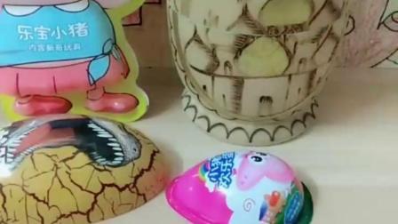 有趣的幼教玩具:乔治捉迷藏藏在这里都快憋没气了