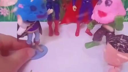 有趣的幼教玩具:乔治该救哪一个人
