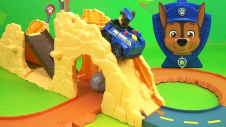 汪汪队回力轨道场景救援玩具