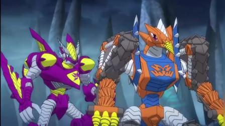斗龙战士:圣龙战神为了保护斗龙战士,拼命争取时间