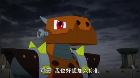 斗龙战士:罗刹黑暗之门开启,人们把希望寄托在斗龙战士身上