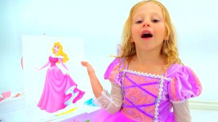 国外少儿时尚,小女孩换了紫色裙子,真漂亮啊