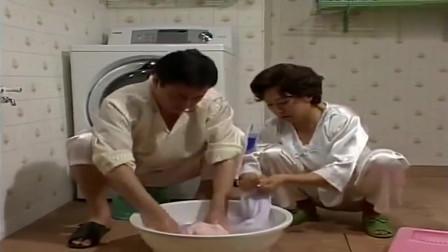 人鱼小姐:世界之大无奇不有,丈夫和妻子不会用洗衣机,只能手洗
