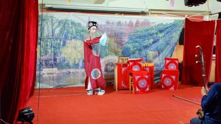 越剧,三审林爱玉洪塘红牡丹越剧团演出第一场姜文定拍摄,