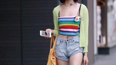 阳光活力的彩虹少女,带给你们好的心情!