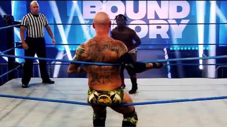 荣耀之路IMPACT世界冠军争夺战,WWE家暴男强势斩获金腰带!