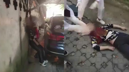 女子小区内疑似上吊身亡,居民清晨路过被吓坏,事发现场曝光
