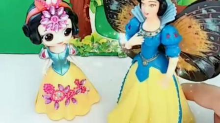 有趣的幼教玩具:仙子的魔法棒棒糖不小心帮了坏人