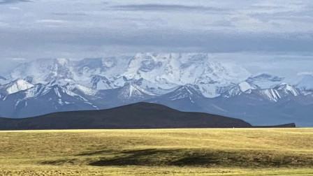 《天堂西藏》127、班戈的晚霞,夜住小山村