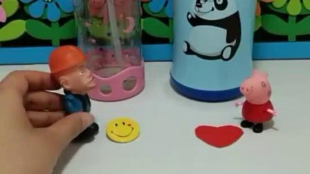 有趣的幼教玩具:你们喜欢喝什么水