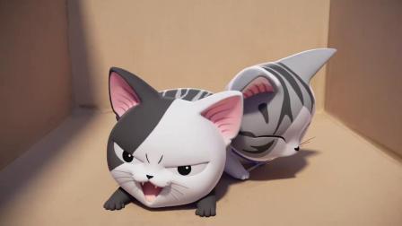 甜甜私房猫:最好的朋友!