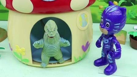 睡衣小英雄要出动了,今天的飞壁侠怪怪的,哪里不对劲呢?