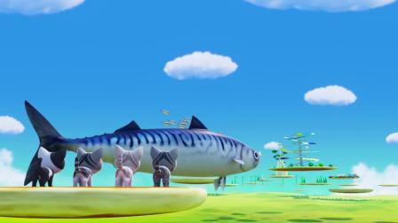 甜甜私房猫:哇,这条鱼好厉害哦