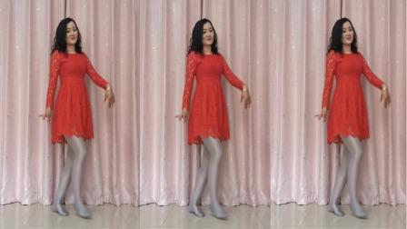 一首陕北民歌 配上欢快的舞步  旋律喜庆大气 满满的家乡情