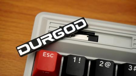 杜伽Fusion 蒸汽灰 三模无线机械键盘