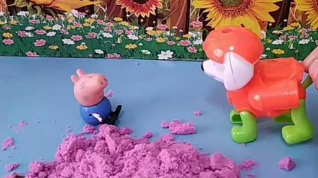 有趣的幼教玩具:佩奇呢