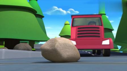 大卡车撞上石头发生侧翻,化工液体流进河里