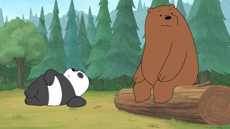 咱们裸熊:白熊竟然和一只蚯蚓斗舞