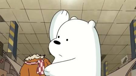 咱们裸熊:白熊这功夫都能去当武打明星了