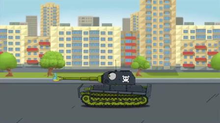 坦克世界:坦克上装着小坦克,还用弹簧拉着小坦克