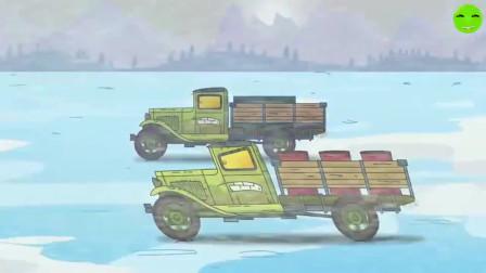 坦克世界:坦克们一边滑冰一边打仗