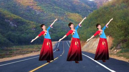 广场舞《天路》把祖国的温暖送到边疆 附教学