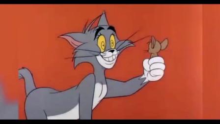 猫和老鼠:汤姆终于抓到杰瑞,不赶紧吃杰瑞