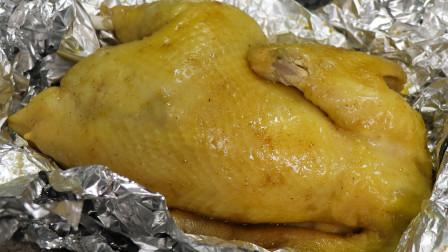 盐焗鸡的做法,皮脆肉滑,咸香入味,是老广喜欢的味道