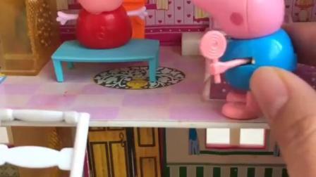 有趣的幼教玩具:佩奇化的妆好看么