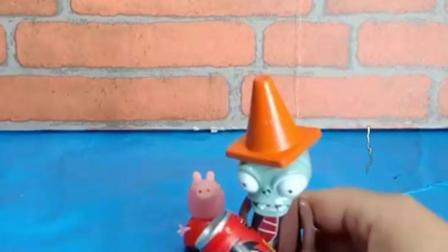 有趣的幼教玩具:倒霉的僵尸啥也没吃到