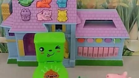 有趣的幼教玩具:倒霉的猪爸爸