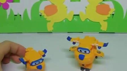 有趣的幼教玩具:假多多碰到了真多多
