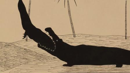 千年老鳄鱼因为嘴馋,吃掉子孙和恋人,最后却被人类奉之为神明