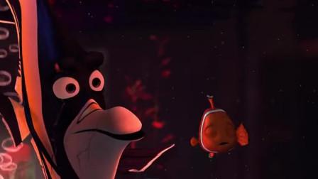 海底总动员:刀疤鱼交给小丑鱼一个任务,让它把小鹅卵石搬到过虑器里