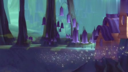 芭比彩虹仙子之梦幻仙境:雅舒娜送走其他仙子,发现窗外的爱丽娜