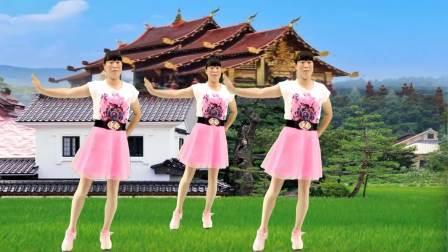 网红热门流行广场舞《谁家的姑娘》你像花一样吐露芬芳,歌醉舞美