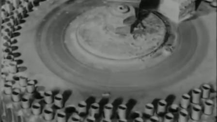 二战真实影像,德国子弹工厂,现代化程度令人咂舌