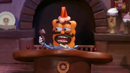 饼干警长:女王不见了,警长居然还很高兴,警长太不尽职了