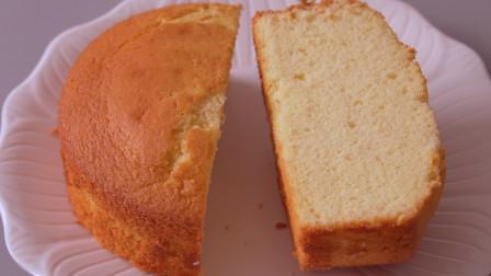 超实用的全蛋海绵蛋糕配方来了,松软香甜弹力足,做法简单超好吃