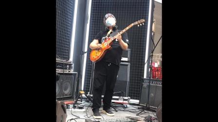 上海滩Slash Gibson LP Custom Shop 展台 2020乐器展