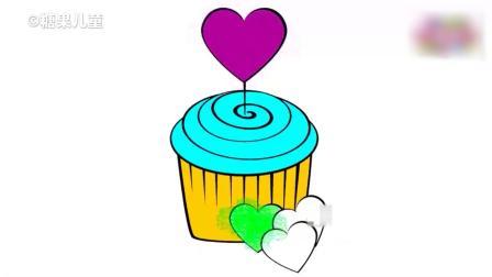 宝宝认颜色,给蛋糕,糖果,甜甜圈等上颜色,学到很多彩色知识