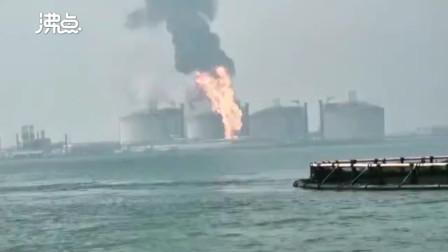 北海通报铁山港区LNG接收站着火事故:经5人 1人失联