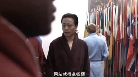 李成儒的演技真不错,《大腕》中演的精神病人一绝