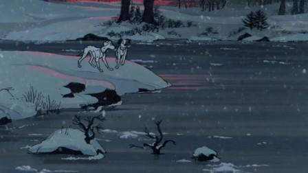 101忠狗:庞戈夫妇在同类的帮助下踏上了寻找孩子们的路,路上夫妇两吃了很多苦