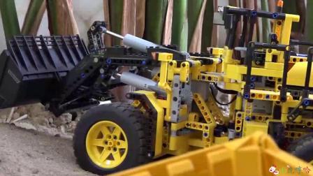 成长益智玩具,齿轮坦克挖掘机模拟工作!
