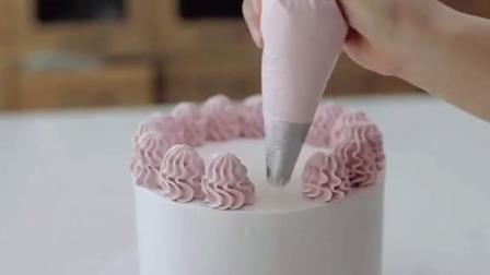 简约系小桃子蛋糕制作制作ins蛋糕