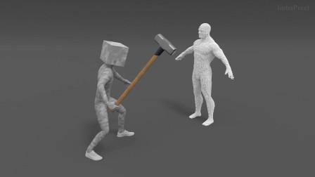 我的世界动画-像素骷髅-ImbaPixel