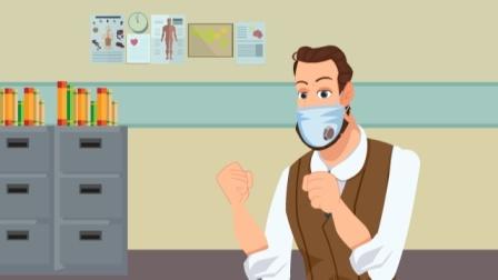 中老年人得慢支,年轻人就没事了?看动画就能预防慢性支气管炎