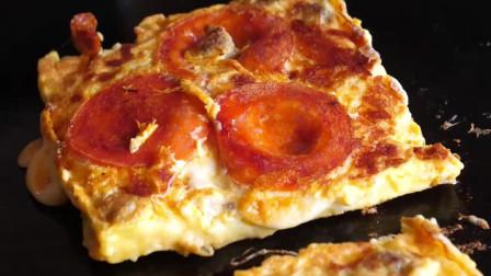 披萨吐司组合-韩国街头小吃